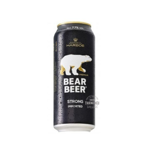 BEAR BEER IMPORTED STRONG 7,7%VOL  (24X 500ML)