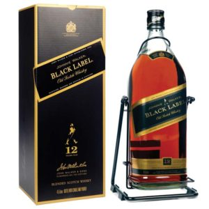 JOHNNIE WALKER BLACK LABEL 4.5LIT  BLENDED WHISKY