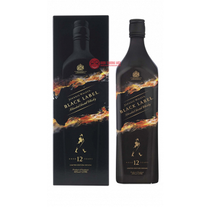 JOHNNIE WALKER BLACK LABEL LIMITED BLENDED WHISKY