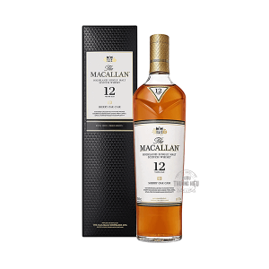 RƯỢU MACALLAN 12 SHERRY OAK – SINGLE MALT WHISKY