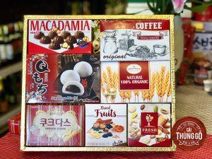 Khay quà tết bánh kẹo 045