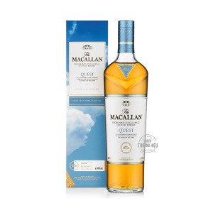 RƯỢU SINGLE MALT WHISKY MACALLAN QUEST 1LIT