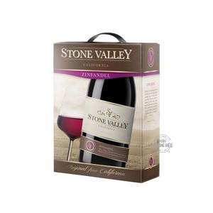 RƯỢU VANG BỊCH ĐỎ MỸ STONE VALLEY CALIFORNIA ZINFANDEL 3L