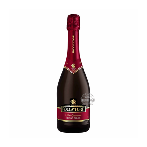 RƯỢU VANG NỔ Ý ROCCA DEI FORTI VINO SPUMANTE ROSSO DOLCE