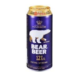 BEAR BEER 12%VOL 500ML XTRA STRONG IMPORTED