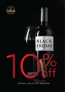 Giảm giá 10% Black Friday