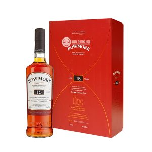 BOWMORE 15YO ISLAY SINGLE MALT 70CL