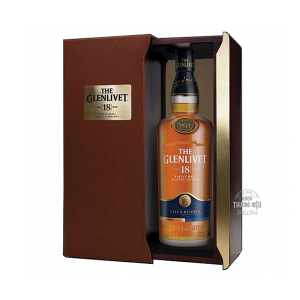 GLENLIVET 18YO SINGLE MALT WHISKY HỘP QUÀ